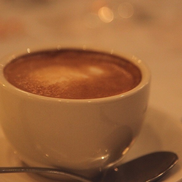 Cafe Latte - Benjamin Steakhouse, New York, NY