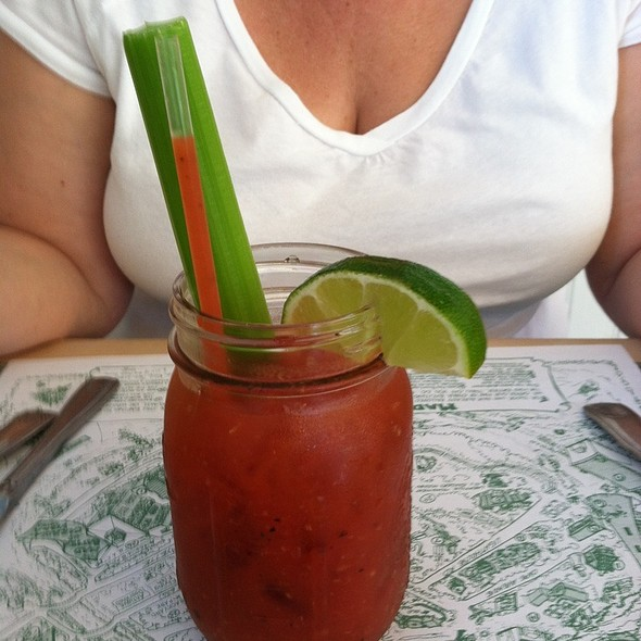 Bloody Mary - Mad Batter Restaurant, Cape May, NJ