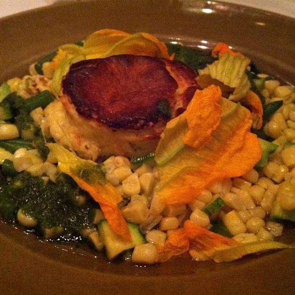 Compté Pudding Soufflé - Chez Panisse Cafe, Berkeley, CA