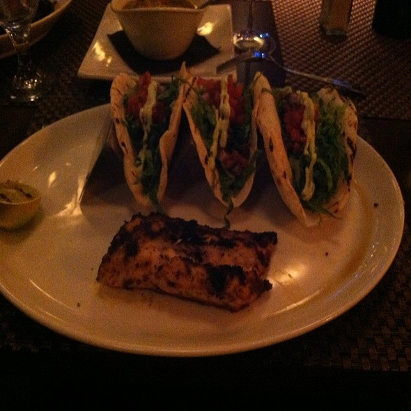 Grilled Walleye Taco - Revolution Grille, Toledo, OH