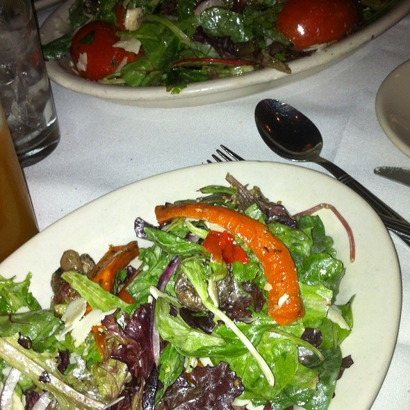Mix Of Greens Salad - Carmine's - 44th Street - NYC, New York, NY