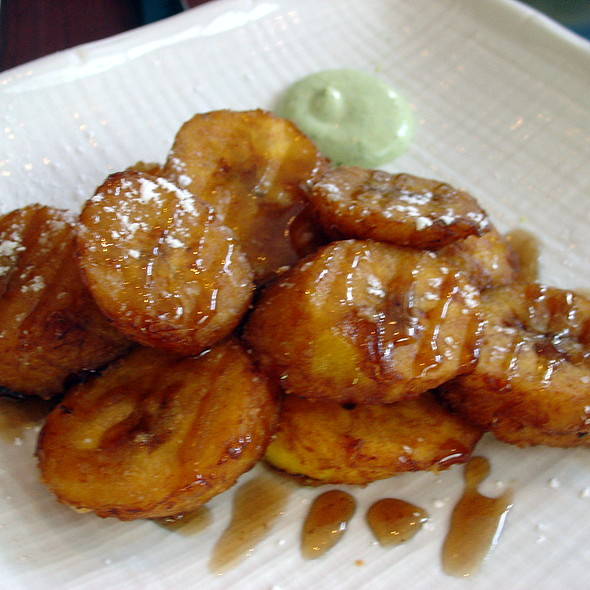 Fried plantain - Mochica, San Francisco, CA
