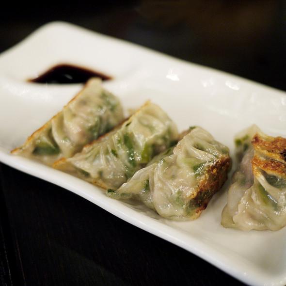 Pork & Chinese Chive Dumplings - Red Egg, New York, NY
