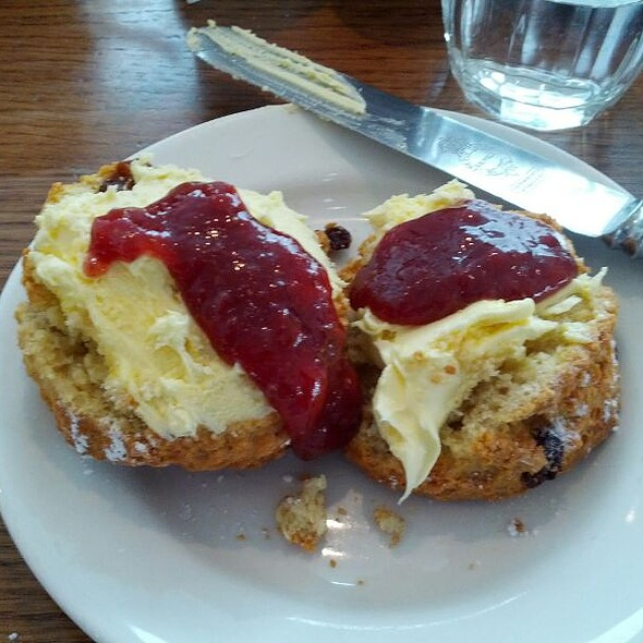 Cream Tea - Ashmolean Rooftop Restaurant, Oxford, Oxfordshire