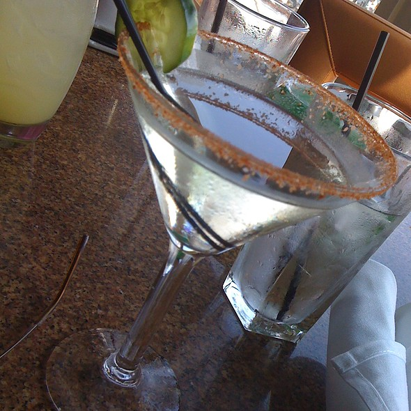 Jalapeno Tine Cocktail - Chart House Restaurant - Alexandria, Alexandria, VA