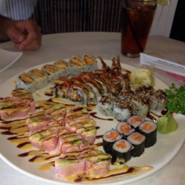 Sushi Platter - Jade Asian Fusion and Sushi Bar, Charlotte, NC