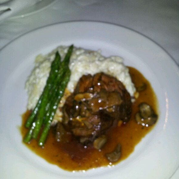 Hanger Steak With Goat Cheese Risotto - Langermann's, Baltimore, MD