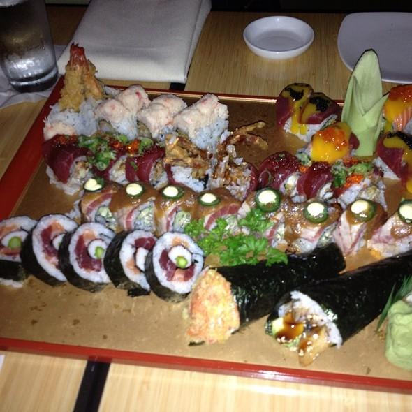 Pheonix Roll - Douzo Modern Japanese Restaurant, Boston, MA