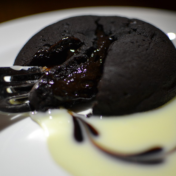 flourless chocolate cake - Terroni  YONGE (at Price St.), Toronto, ON