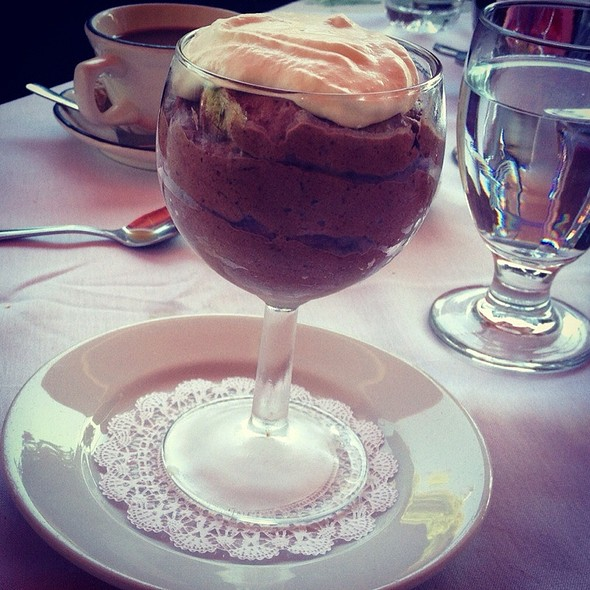 Chocolate Mousse - Cafe Roma, San Luis Obispo, CA