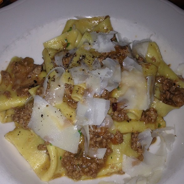 Pappardelle With Beef, Pork And Veal Ragu - Il Buco, New York, NY