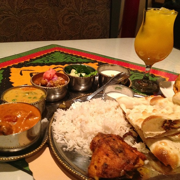 chicken tikka masala - Shalimar Restaurant, Ann Arbor, MI