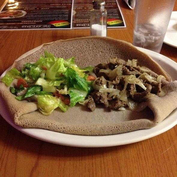 Lamb Tibs - Gatur's Ethiopian Cuisine, Buffalo, NY