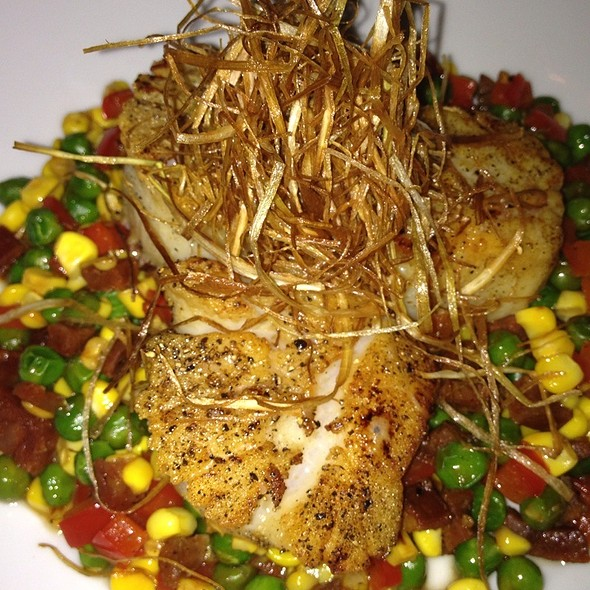 Diver Scallops With Seeet Corn And Bacon Succotash - Spencer's for Steaks and Chops, Orlando, FL