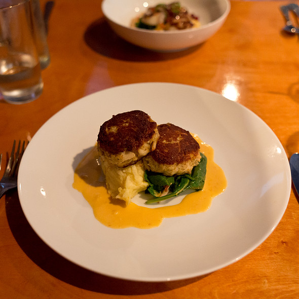 "Pan Roasted ""Oriental, NC"" Backfin & Lump Crab Cakes - Catch - Modern Seafood Cuisine, Wilmington, NC"