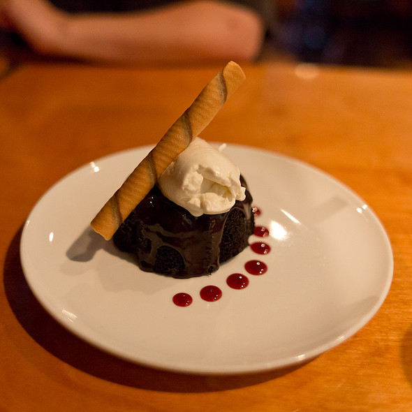 Chocolate Lava Bundt Cake - Catch - Modern Seafood Cuisine, Wilmington, NC