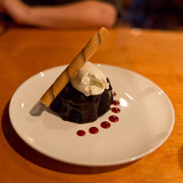Chocolate Lava Bundt Cake - Catch - Modern Seafood Cuisine, Wilmington, NC