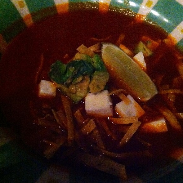 Tortilla Soup - Border Grill - Downtown LA, Los Angeles, CA