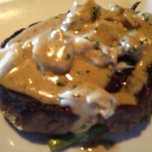 Prime Bone In Ribeye W/ Oscar Topping - Jake's Restaurant, Brookfield, WI