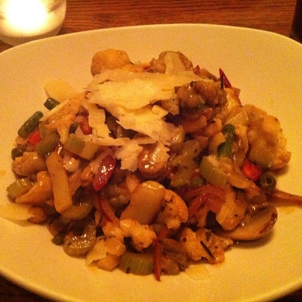 Lemon Gnocchi - Blind Faith Cafe, Evanston, IL