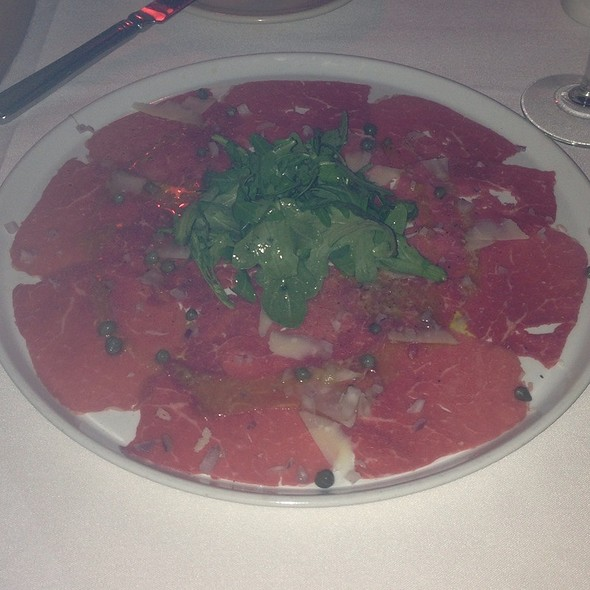 carpaccio - IL BISTRO, Seattle, WA