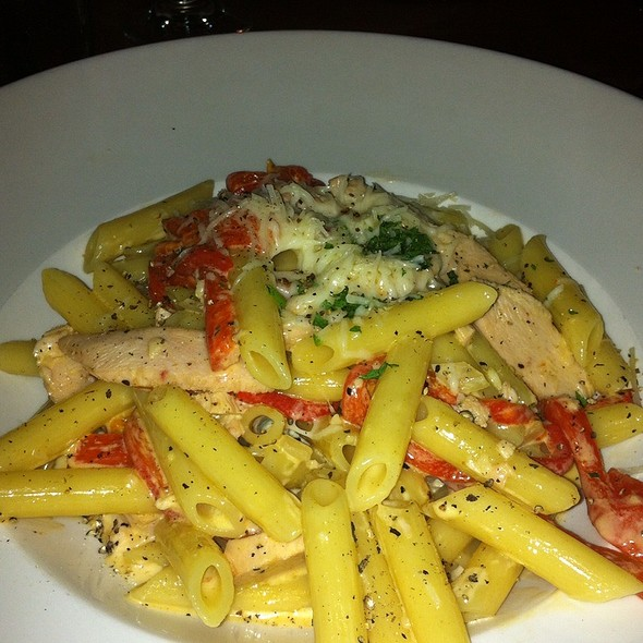 Smoked Chicken Penne - 21 Steps Kitchen + Bar, Whistler, BC