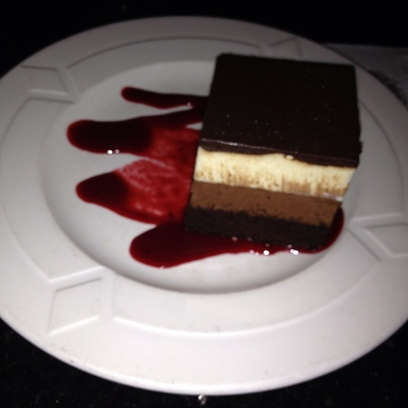 Triple White Chocolate Mousse Cake - Signature Room at the 95th, Chicago, IL