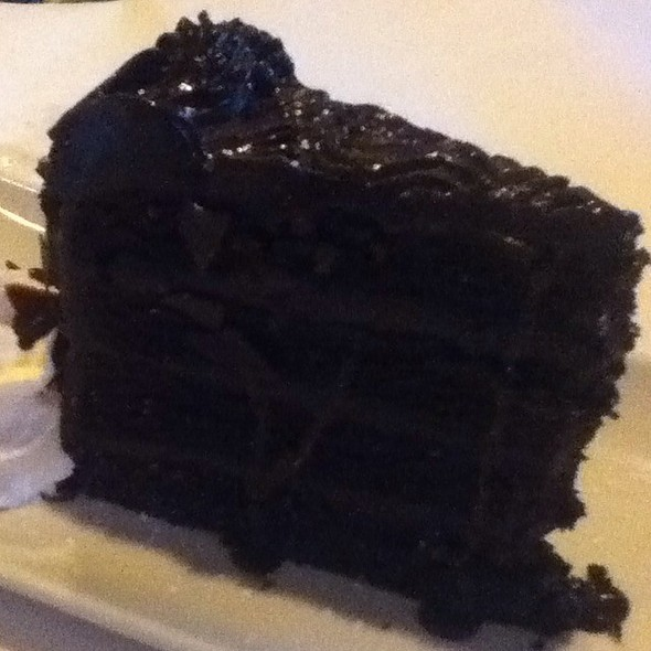 7 Layer Chocolate Cake - Tannins Restaurant and Wine Bar, San Juan Capistrano, CA