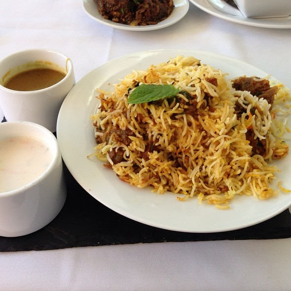 Madurai Mutton Briyani - Cholanad Restaurant and Bar, Chapel Hill, NC