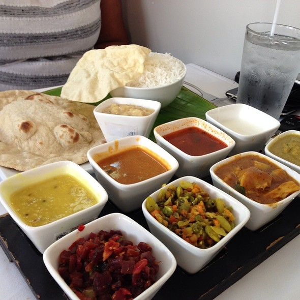 Thali - Cholanad Restaurant and Bar, Chapel Hill, NC