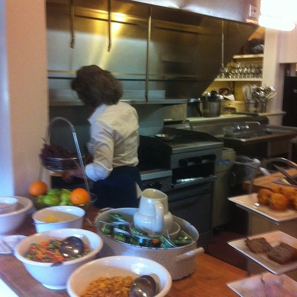 Owner Marie In The Kitchen - The Farmhouse, Palmetto, GA
