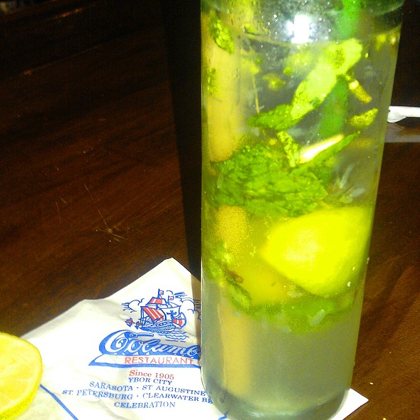 Mint Mojito - Columbia Restaurant - Ybor City, Tampa, FL