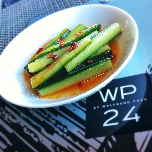 Szechuan Pickled Cucumbers - WP24 by Wolfgang Puck, Los Angeles, CA