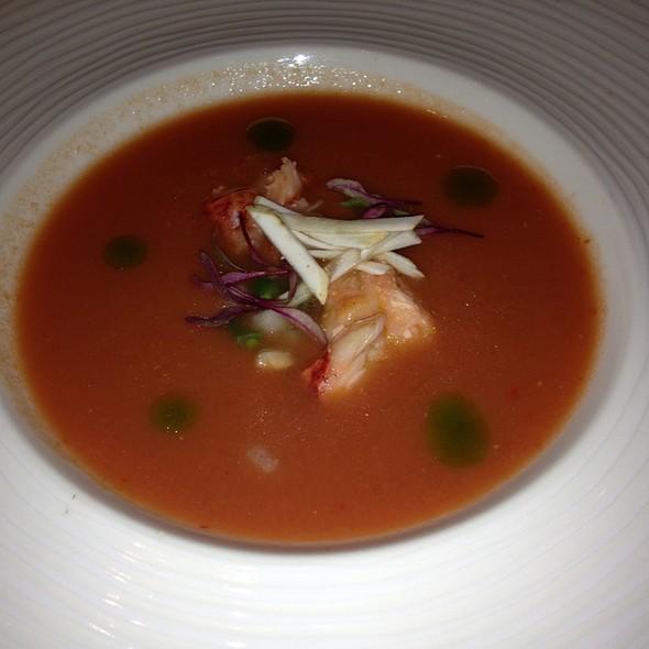 Sopa Fria De Tomate Con Bogovante - Restaurante Diana -  The St. Regis Mexico City, México, CDMX