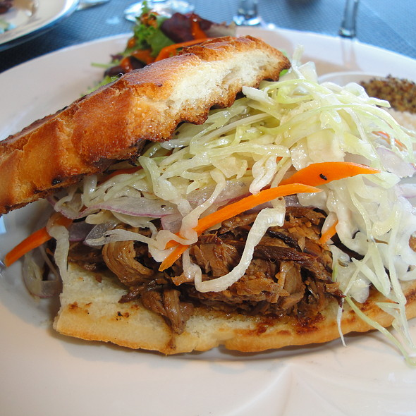 Beef Brisket Sandwich - Top of the Mark, San Francisco, California