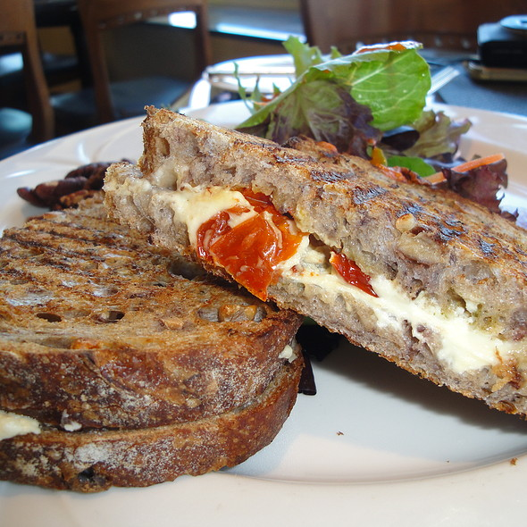 Grilled Cheese Sandwich - Top of the Mark, San Francisco, California