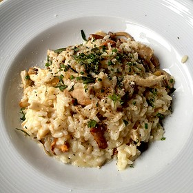 Chicken Risotto - Purple Cafe and Wine Bar - Kirkland, Kirkland, WA