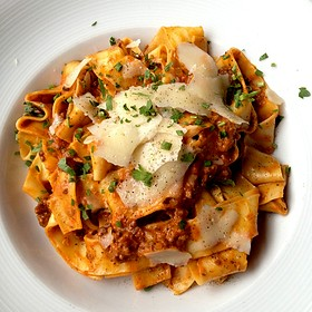 Wild Boar Bolognese - Purple Cafe and Wine Bar - Kirkland, Kirkland, WA
