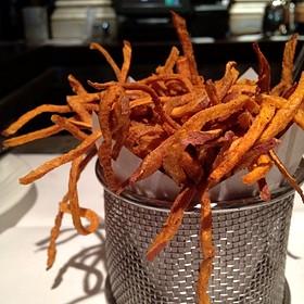 Sweet potato fries - Cafe Pacific, Dallas, TX