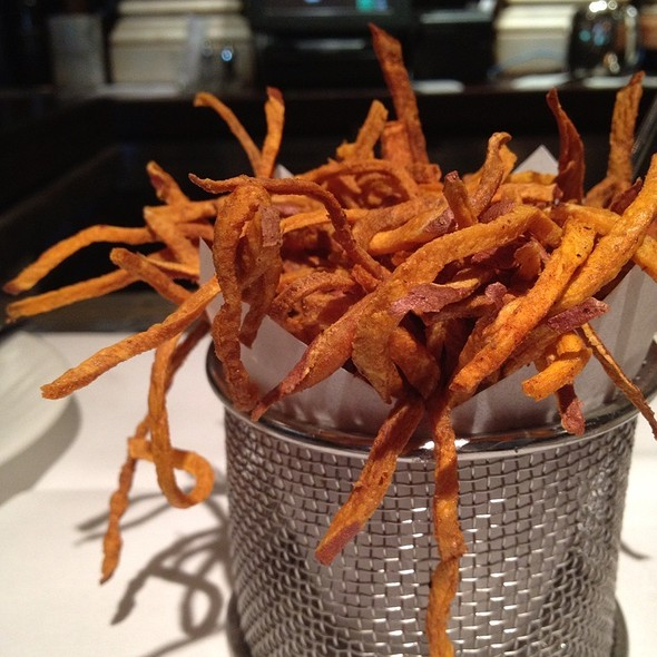 Sweet potato fries - Cafe Pacific, Dallas, TX
