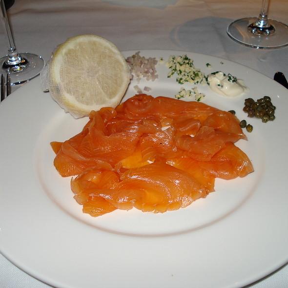 Smoked salmon - New Street Grill, London