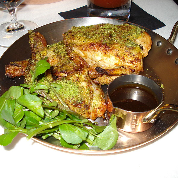 Chicken with Shallots & Mustard - New Street Grill, London