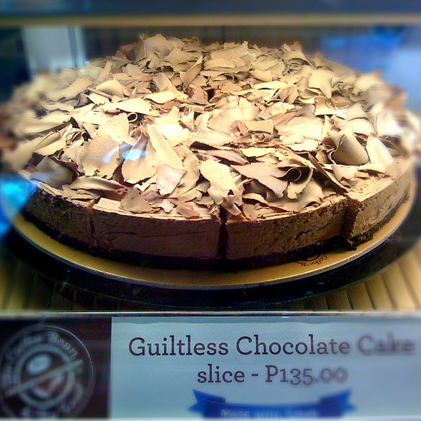 Guiltless Chocolate Cake Coffee Bean