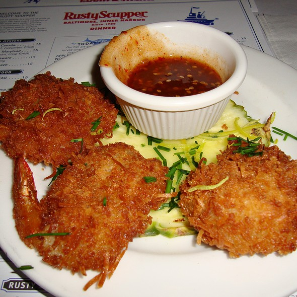 Fried Coconut Shrimp - Rusty Scupper - Baltimore, Baltimore, MD