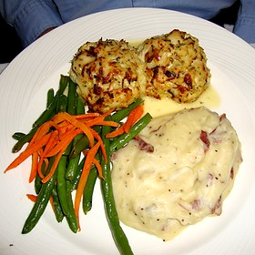 Maryland Crab Cakes - Rusty Scupper - Baltimore, Baltimore, MD