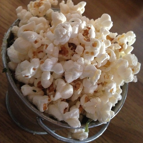 Mini Popcorn Bucket - Big Grove Tavern, Champaign, IL