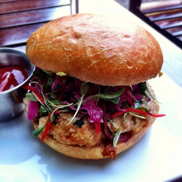 Spicy Tuna Burger - The Tipsy Pig, San Francisco, CA