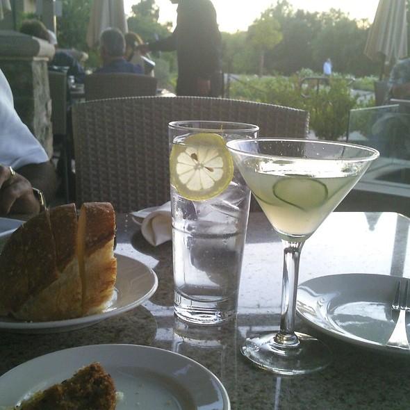 Cucumber Martini - Scott's Seafood on the River, Sacramento, CA