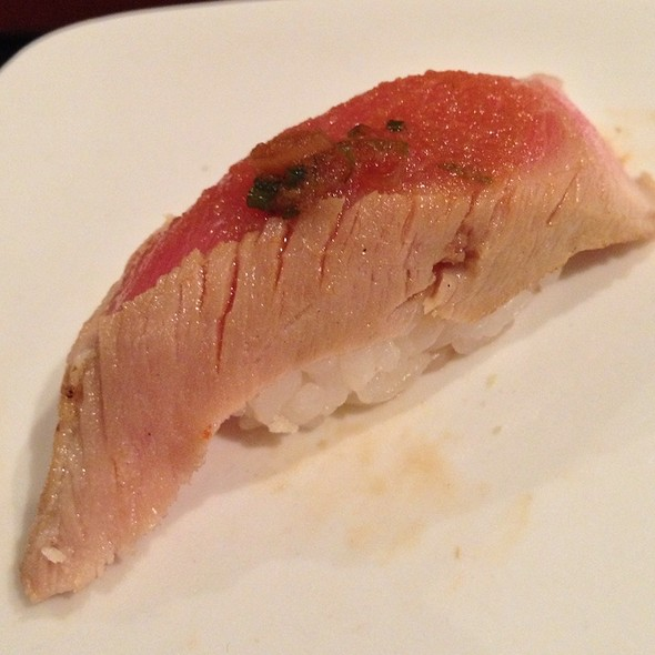 Marinated striped bass - Sushi of Gari 46, New York, NY