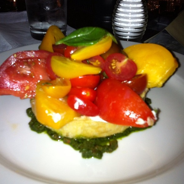 Heirloom Tomato Tart - Cafe Luxembourg, New York, NY